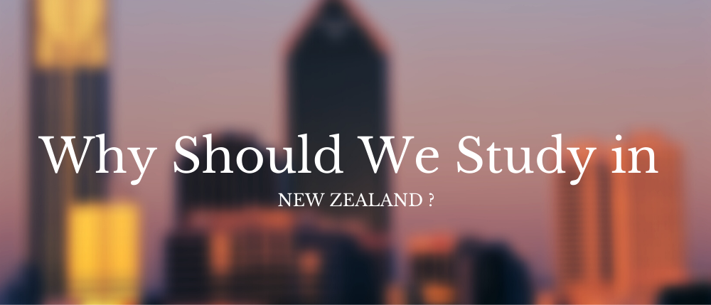 3 Reasons Why We Study In New Zealand?